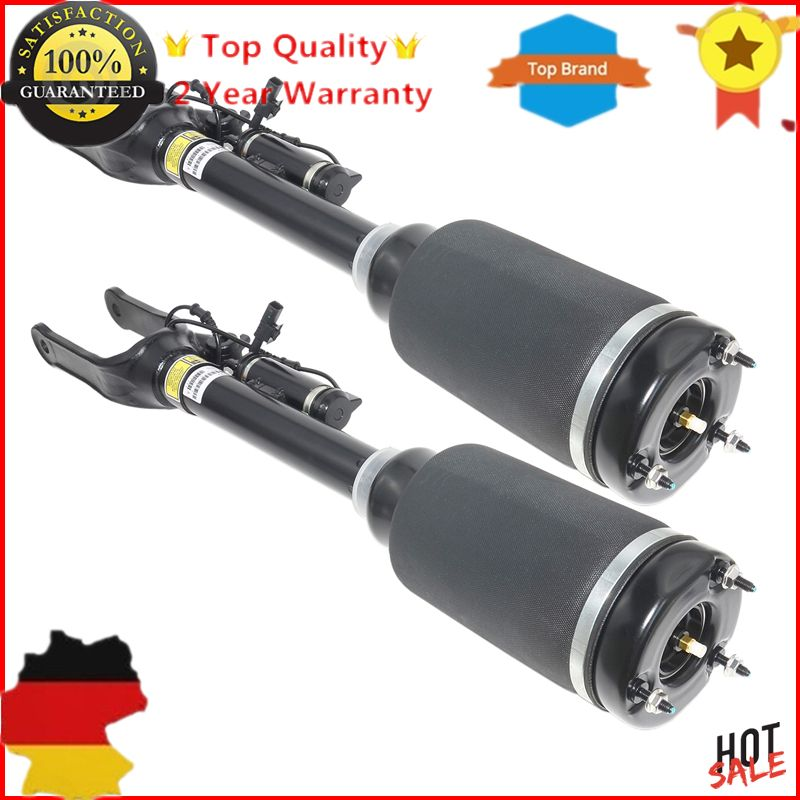 New Pair Air Suspension Struts Shock W/ADS For Mercedes M GL/ML-Class X164 W164 1643205813 A1643204413 A1643204613 1643205913