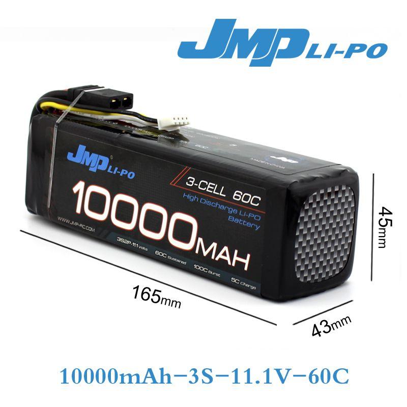 JMP Lipo Batterie 3 S 10000 mAh 11,1 V Akku 60C für TRAXXAS X-MAXX 77086-4 SPARTAN DCB-M41