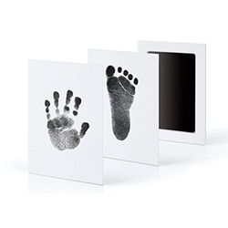 Baby Care Handprint Footprint Imprint Kit Newborn Non Toxic Casting Parent Child Hand Inkpad Fingerprint Watermark Infant Toys