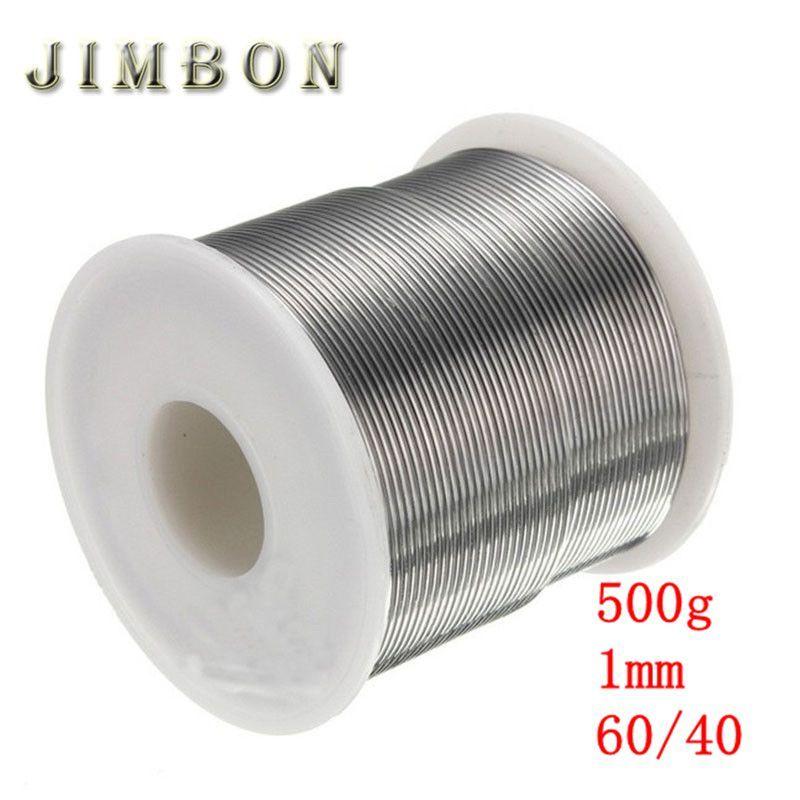 JimBon 1mm 500g 60/40 Rosin Core Solder Tin Lead 2.0% Flux Soldering Welding Iron Wire Reel