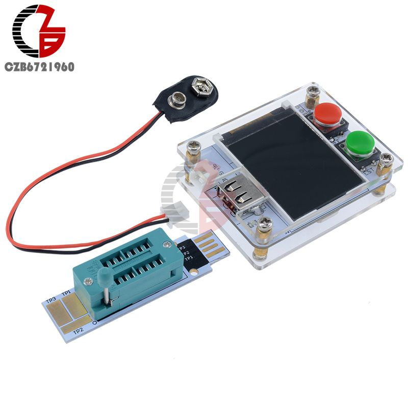 MK-328 MK328 ATmega328 8MHz Digital Transistor Tester Triode Capacitance ESR Meter 1.8