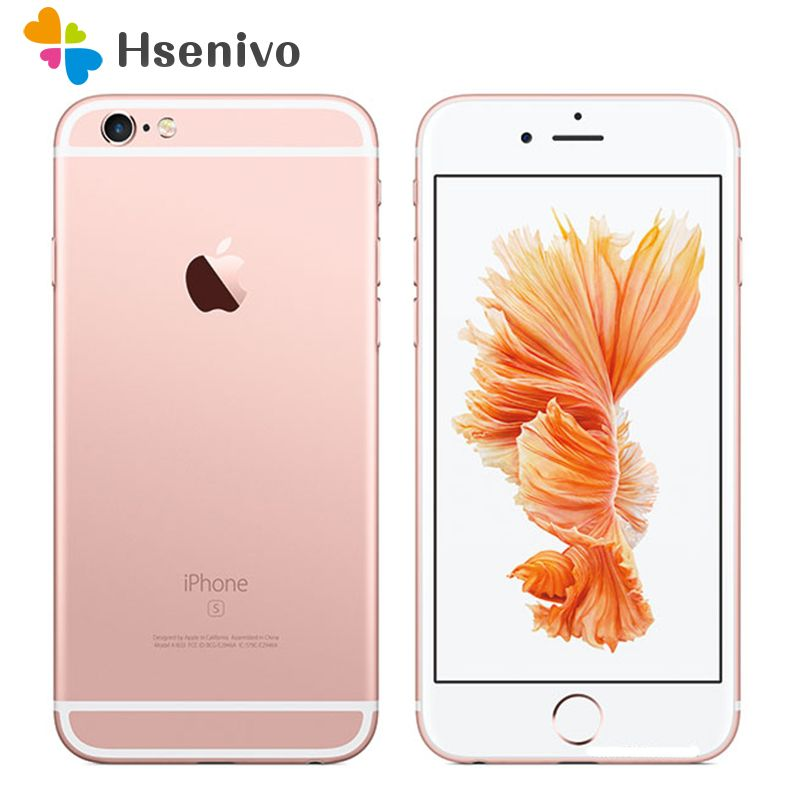 Free shipping Original Unlocked Apple iPhone 6S 2GB RAM 16/64/128GB ROM Dual Core 4.7'' 12.0MP Camera A9 4G LTE cell phone