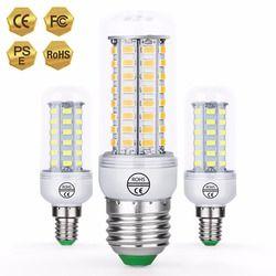 Canling E27 светодиодный Светодиодная лампа-кукуруза E14 Bombillas светодиодный 3 Вт 220 V Светодиодный светильник в форме свечи лампы GU10 5730 SMD 24 36 48 56 69 72 ...