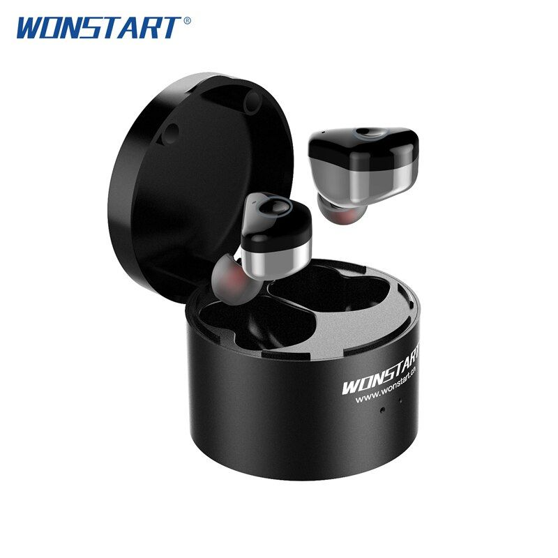 Wonstart W6 TWS wireless bluetooth headphones with Touch Screen Mini Stereo Music Headsets with IPX6 audifonos bluetooth sport