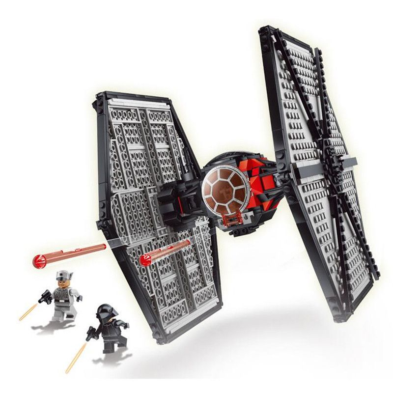 562pcs Lepin Diy Model Special Forces TIE Fighter Star Wars Block Bricks Gift Compatible With Legoingly Toys For Children