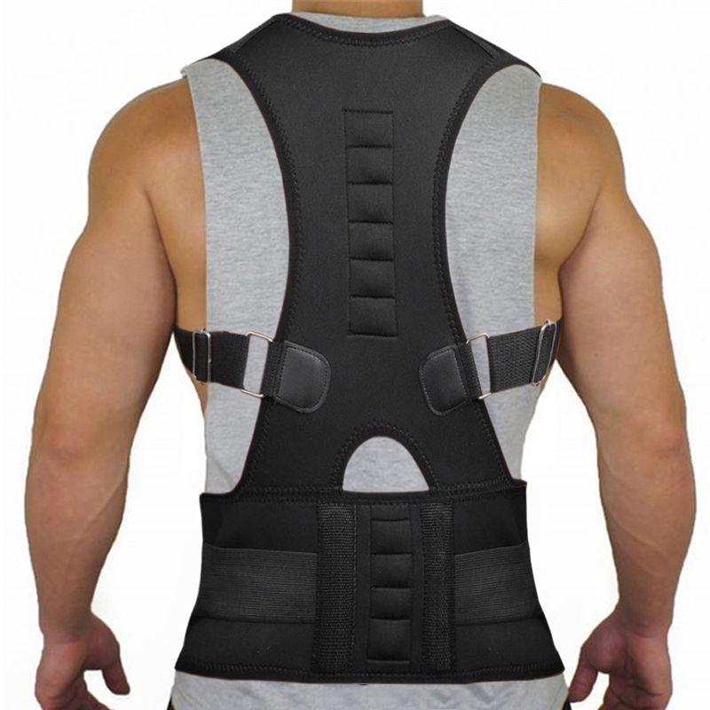 Thérapie magnétique Posture correcteur orthèse épaule dos soutien ceinture pour hommes femmes bretelles et Supports ceinture épaule Posture