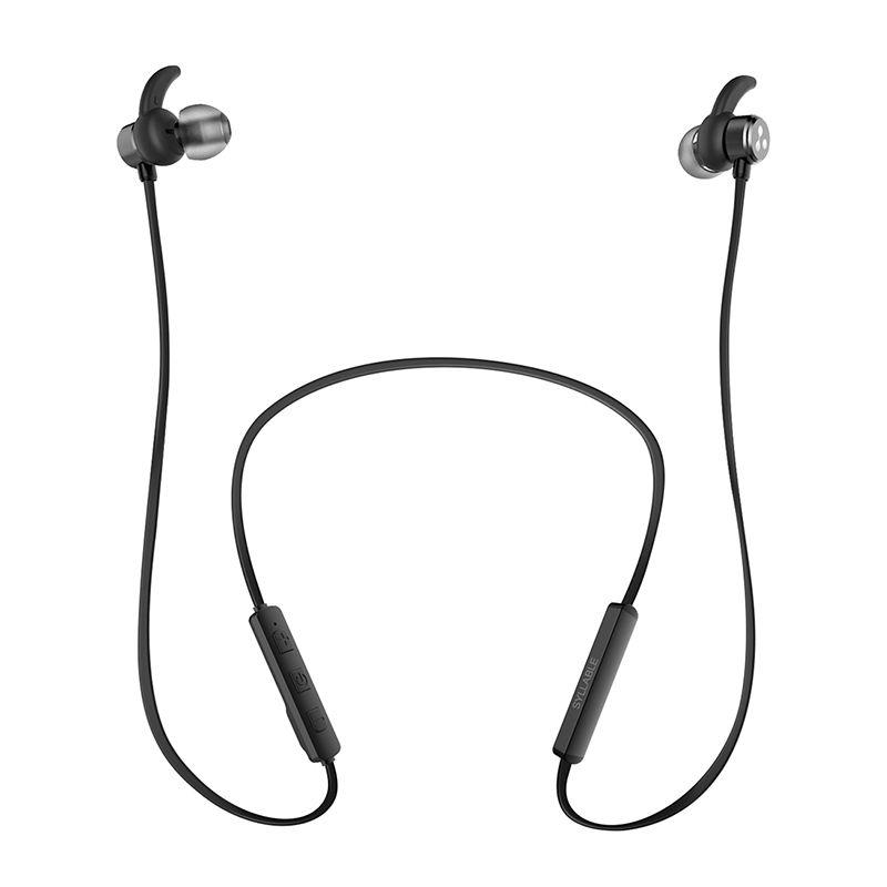 Moveski D3X Drahtlose Sport Kopfhörer Eingebaute Mic Bluetooth 4,2 Earbuds Headsets Sichere Fit für Sport Gym Workout