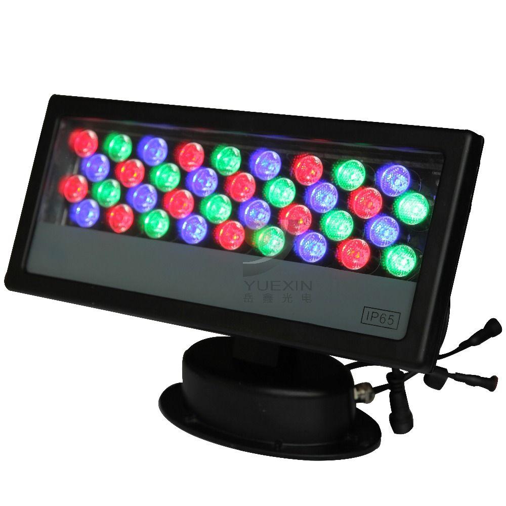 36x1W RGB Outdoor LED Floodlight 36W Wash Light Led Wall Washer DMX512 Stage Light High Power