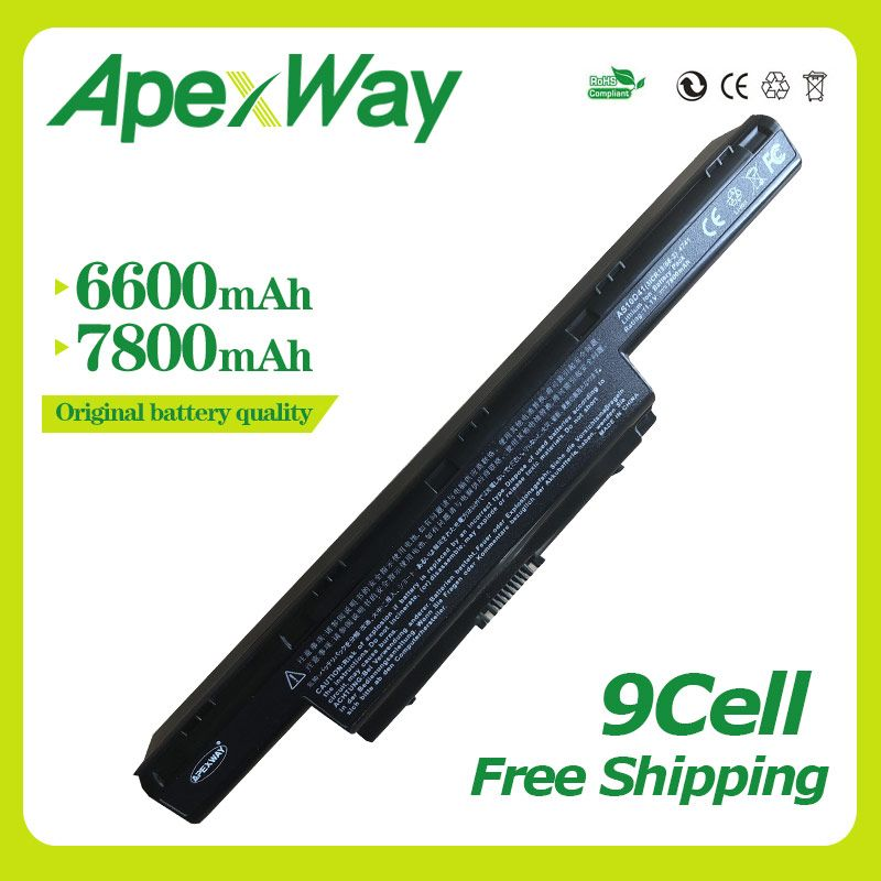 Apexway 11.1V laptop Battery for Acer AS10D31 AS10D75 AS10D51 AS10D71 Aspire 4741 5741 5750g 5552g 5742g 5551g 5560g 5733z