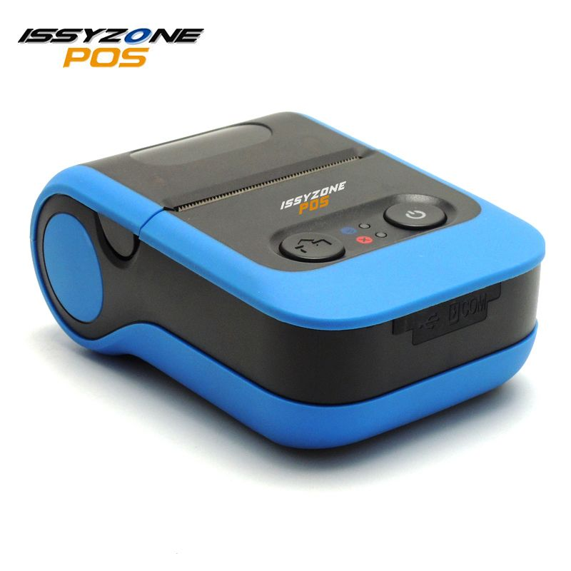 ISSYZONEPOS IMP020 2 Inch Portable Thermal Printer 58mm Thermal Receipt Printer With Battery Pos System