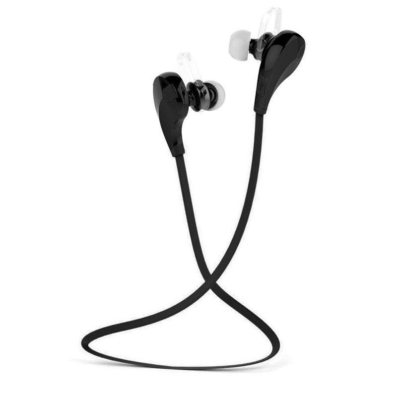 Qy7 спортивные Беспроводной Bluetooth 4.1 + EDR наушники стерео Наушники гарнитура с микрофоном называет наушники для iPhone 7 Телефона Android