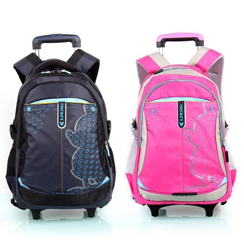 Travel luggage child school bag students rolling suitcase kids backpack Rainproof cover Climb the stairs boy girl trolley case