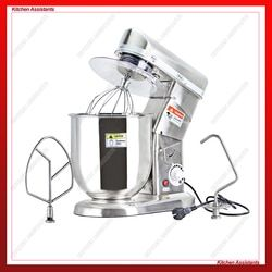 SL-B7/10 7L 10L Electric Planetary Kitchen Food Processor Stainless Steel blender mixer Stand mixer With Hook