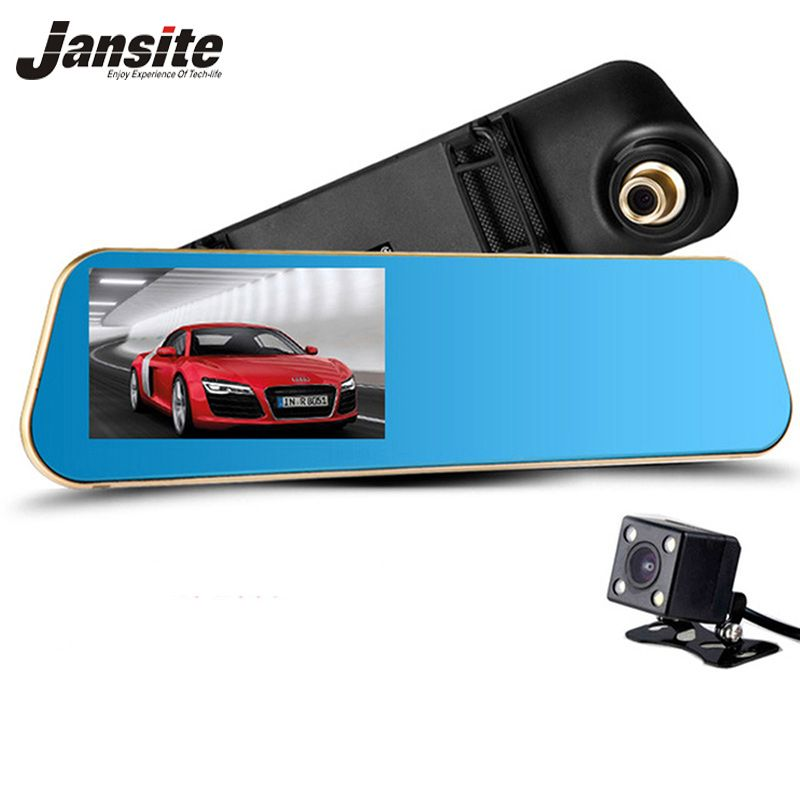 2017 Newest Car Camera Car Dvr Blue Review Mirror Digital Video Recorder Auto Registrator Camcorder Full HD 1080P Dvrs