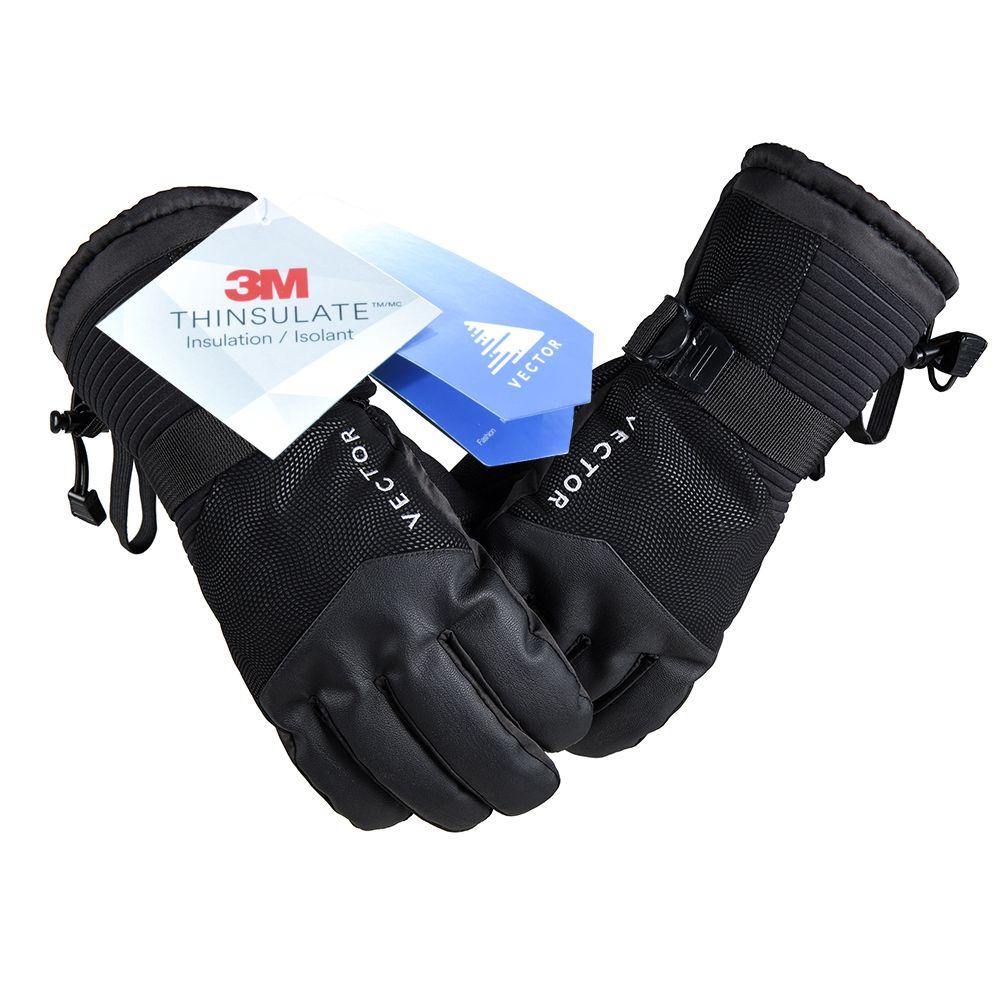 VECTOR Bildschirm Touch Ski Handschuhe Warme Wasserdicht Winddicht Männer Frauen Skifahren Snowboard-handschuhe Snowmobile Winter Sport Handschuhe