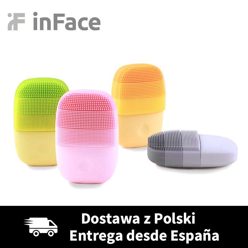 Xiaomi inFace intelligent sonique propre électrique nettoyage en profondeur du visage brosse de Massage lavage soins du visage nettoyant Rechargeable