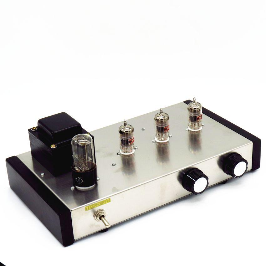 Classic marantz M7 12AX7B Vacuum tube Pre-AMP Hifi Audio preamplifier