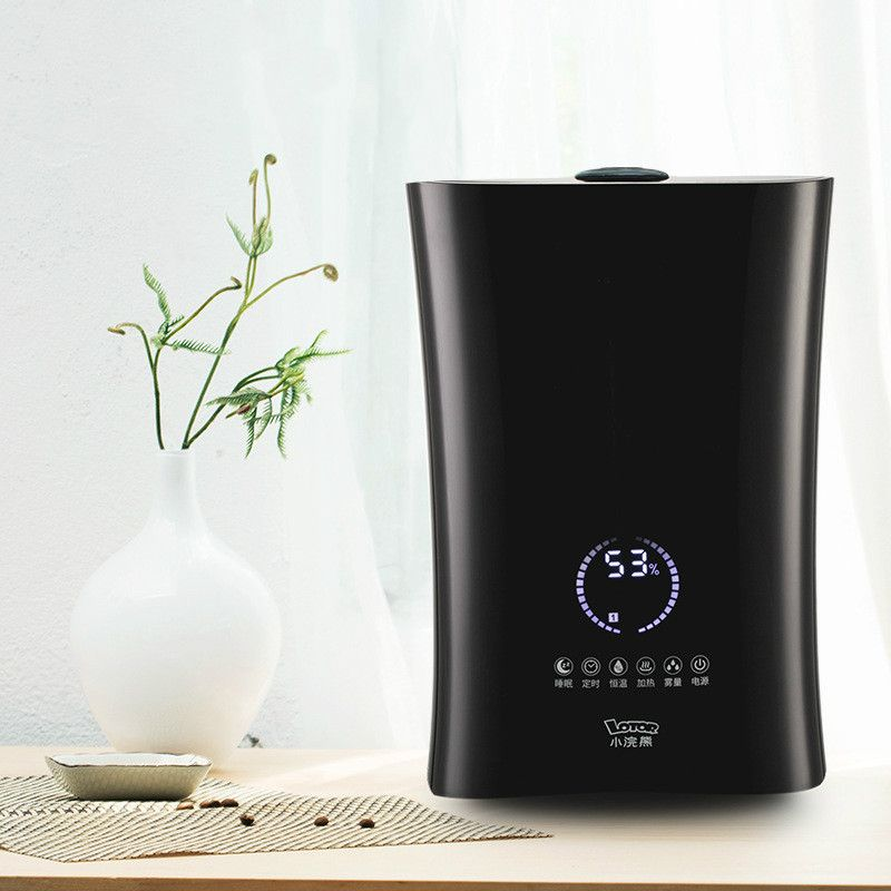 Intelligent Humidifier Air Aromatherapy Machine Sprayer Ultrasonic Spray Household Small Mute High Capacity Touch Screen Control