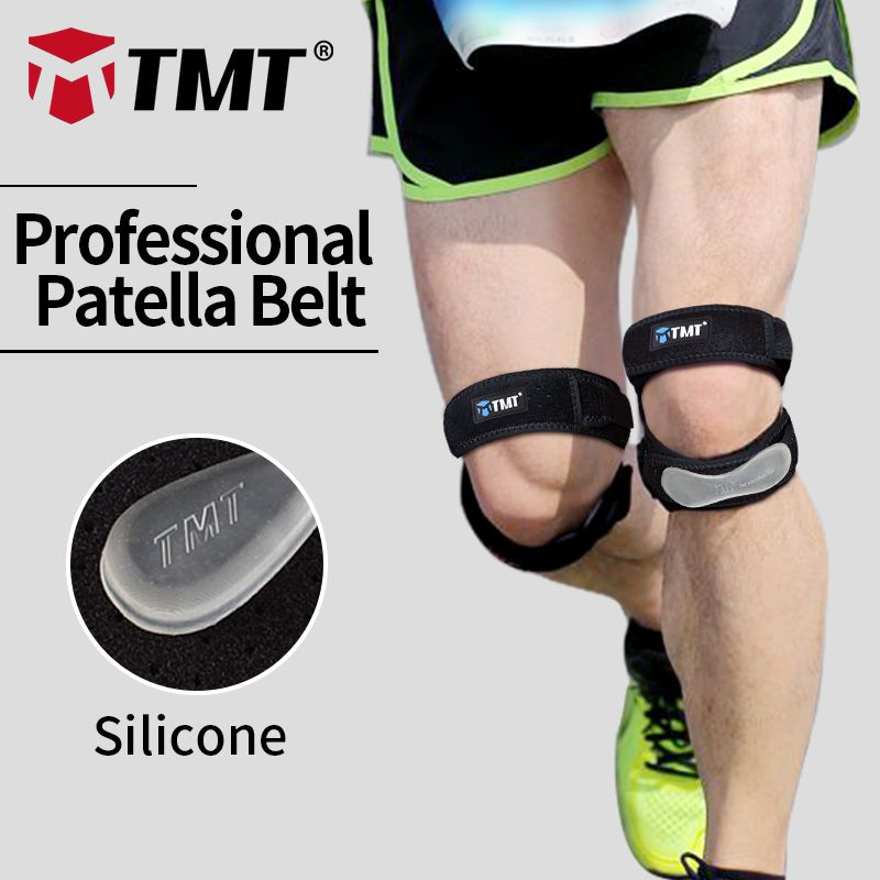 TMT Honeycomb Meshed Breathable Adjustable Sports Climbing Basketball Knee Support Brace Sleeve Patella Guard Protector Support