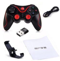 Поколения игр S3 Беспроводной Bluetooth 3,0 геймпад удаленного Управление джойстик игры Управление Лер для ПК Android-смартфон Pk T3 геймпад