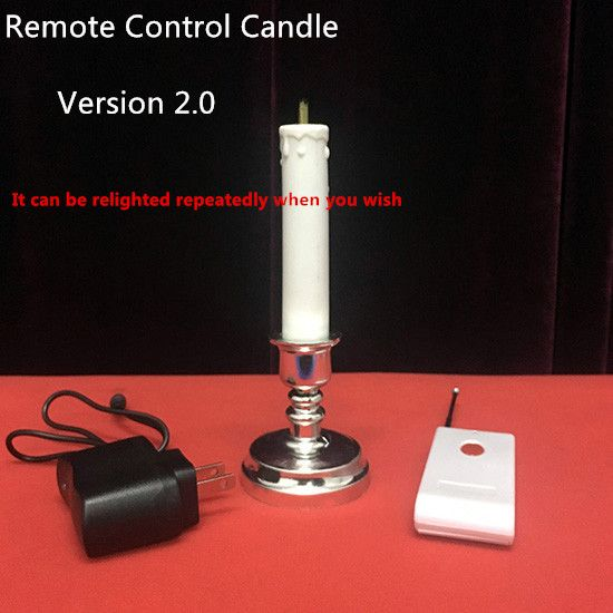 New Arrivals Remote Control Candle 2.0 by J.C Magic Stage Magic Tricks Illusions Party Magic Show Mentalism Magia Toys Joke