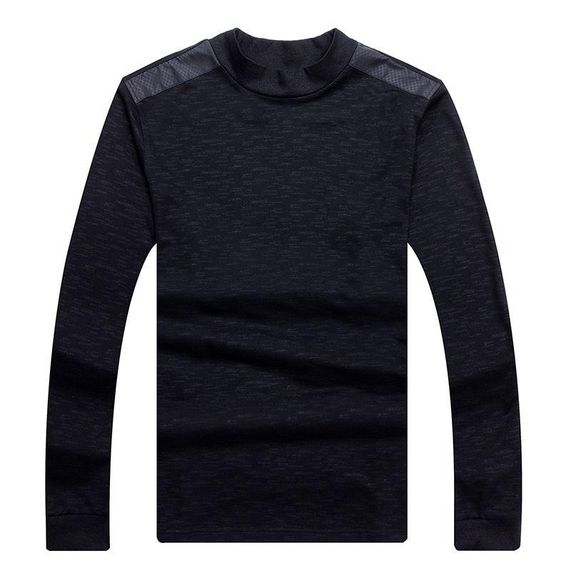 Chaude 2018 Nouveau Printemps Automne Hommes Coton À Manches Longues T-Shirt AMN1-AMN11