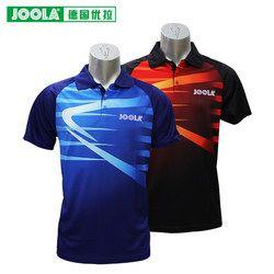 Joola Klasik 693 Top Kualitas Tenis Meja Kaus Pelatihan T-shirt Ping Pong Kemeja Kain Pakaian Olahraga