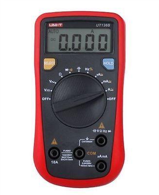 UNI-T UT136B Mini Handheld Digital Multimeter Auto Range AC/DC Voltage Current Resistance Capacitance Frequency Tester