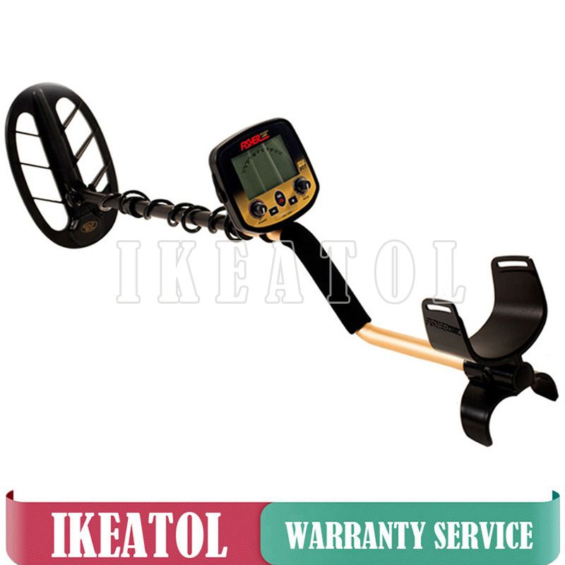 Professional Metal Detector Pro Gold Bug Long Range Deep Earth Underground Treasure Finder with 2 coils