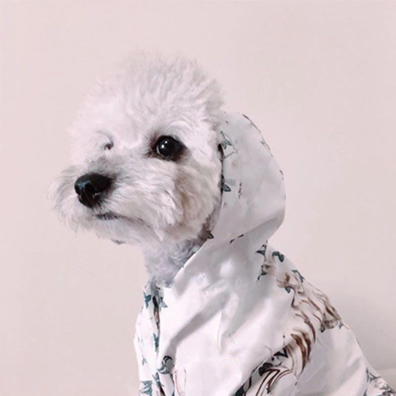 Mode chien vêtements pour petits chiens veste imperméable pour Chihuahua bouledogue français imperméable vêtements pour chiot chat Costume BR0026