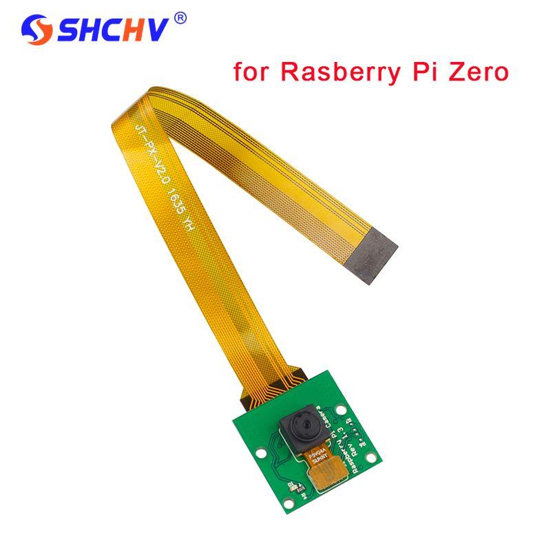 Raspberry Pi zéro caméra 5MP RPI zéro caméra Webcam + 16 cm FFC pour Raspberry Pi zéro W Pi zéro Pi0 support étui officiel