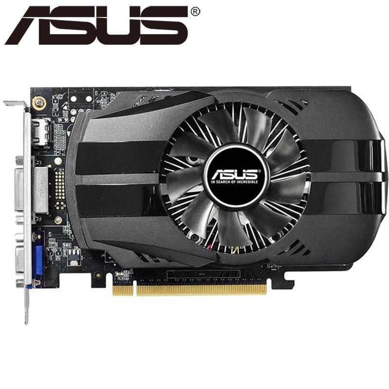ASUS Grafikkarte Original GTX 750 2 GB 128Bit GDDR5 Grafikkarten für nVIDIA VGA Karten Geforce GTX750 Hdmi Dvi Auf Verkauf