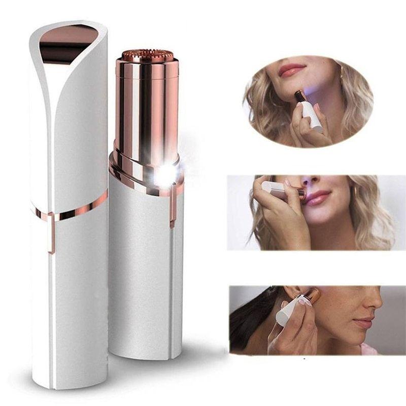 Electric Hair Remover Women Lipstick Shaver Razor Wax Finishing Touch Trimmer Shaving Machine Lipstick Shaving Tool