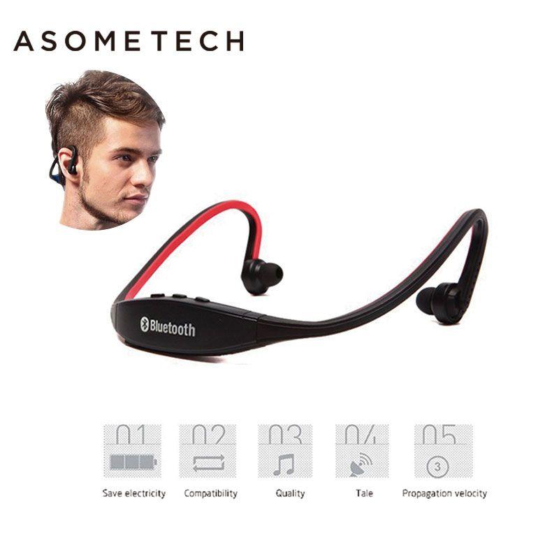 S9 Original Sport Drahtloser Bluetooth Headset Freisprecheinrichtung Kopfhörer Ausgeführt Stereo-ohrhörer Kopfhörer Für iPhone XiaoMi Huawei 6 7 Kopfhörer
