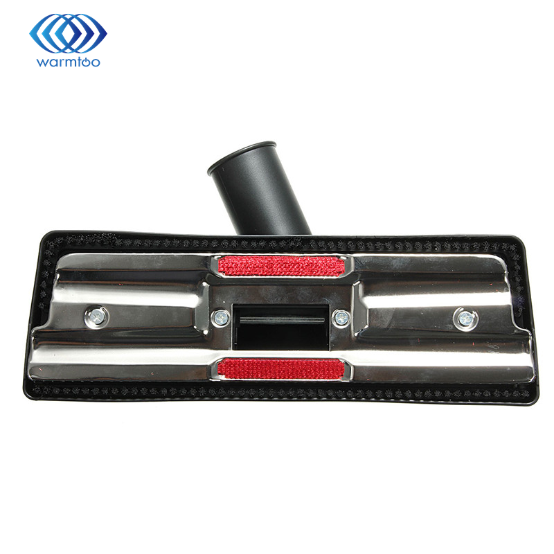 Durable Quality Metal Plastic Black Universal Vacuum Cleaner brush 35mm Carpet Floor Tool Brush Attachment Swivel Head