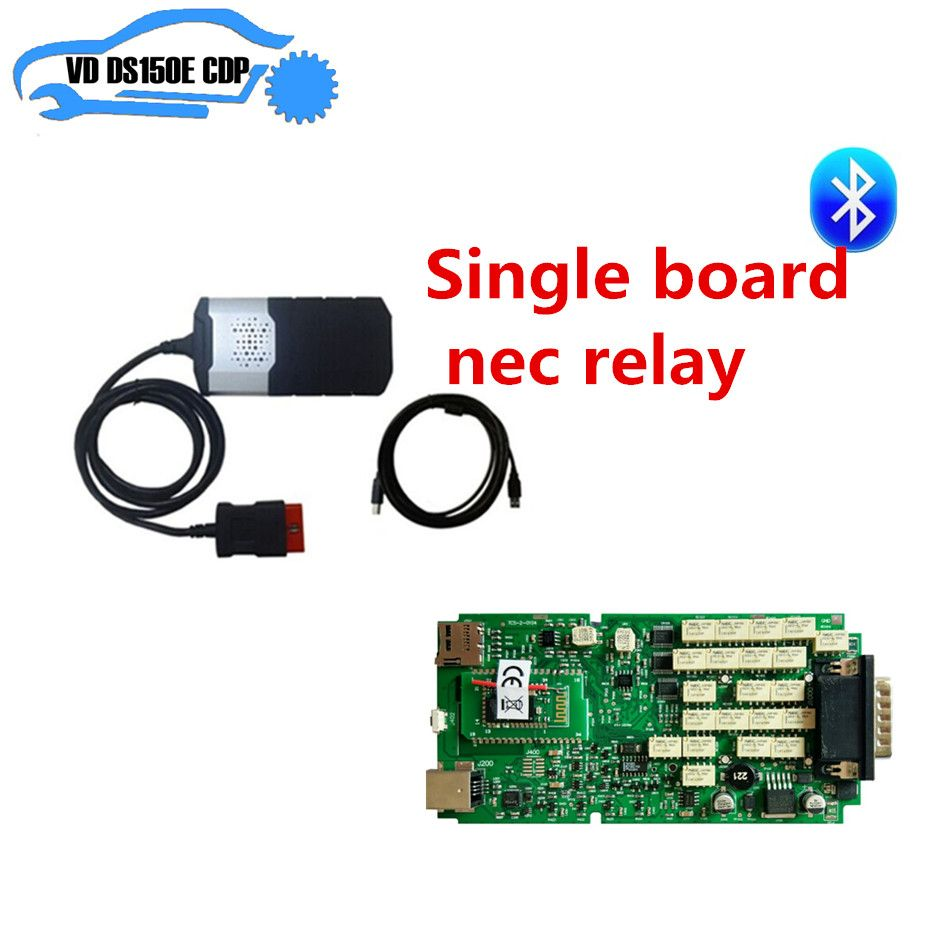 2016R0 free actived cd for delphis single pcb <font><b>board</b></font> nec relay vd ds150e cdp pro plus bluetooth