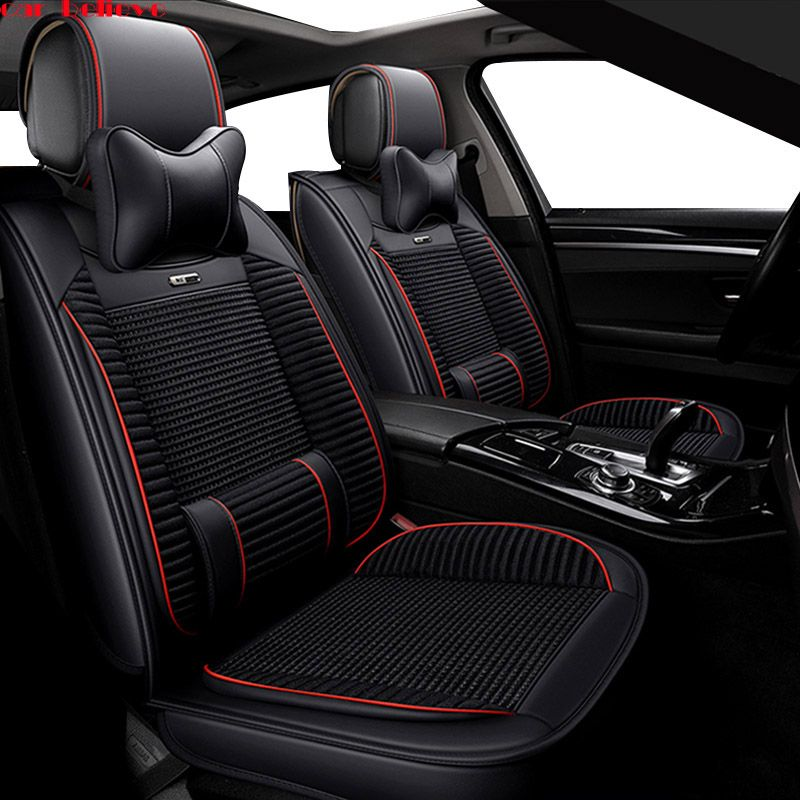 Car Believe car seat covers For hyundai solaris 2017 creta getz i30 accent ix35 i40 accessories covers for vehicle seats