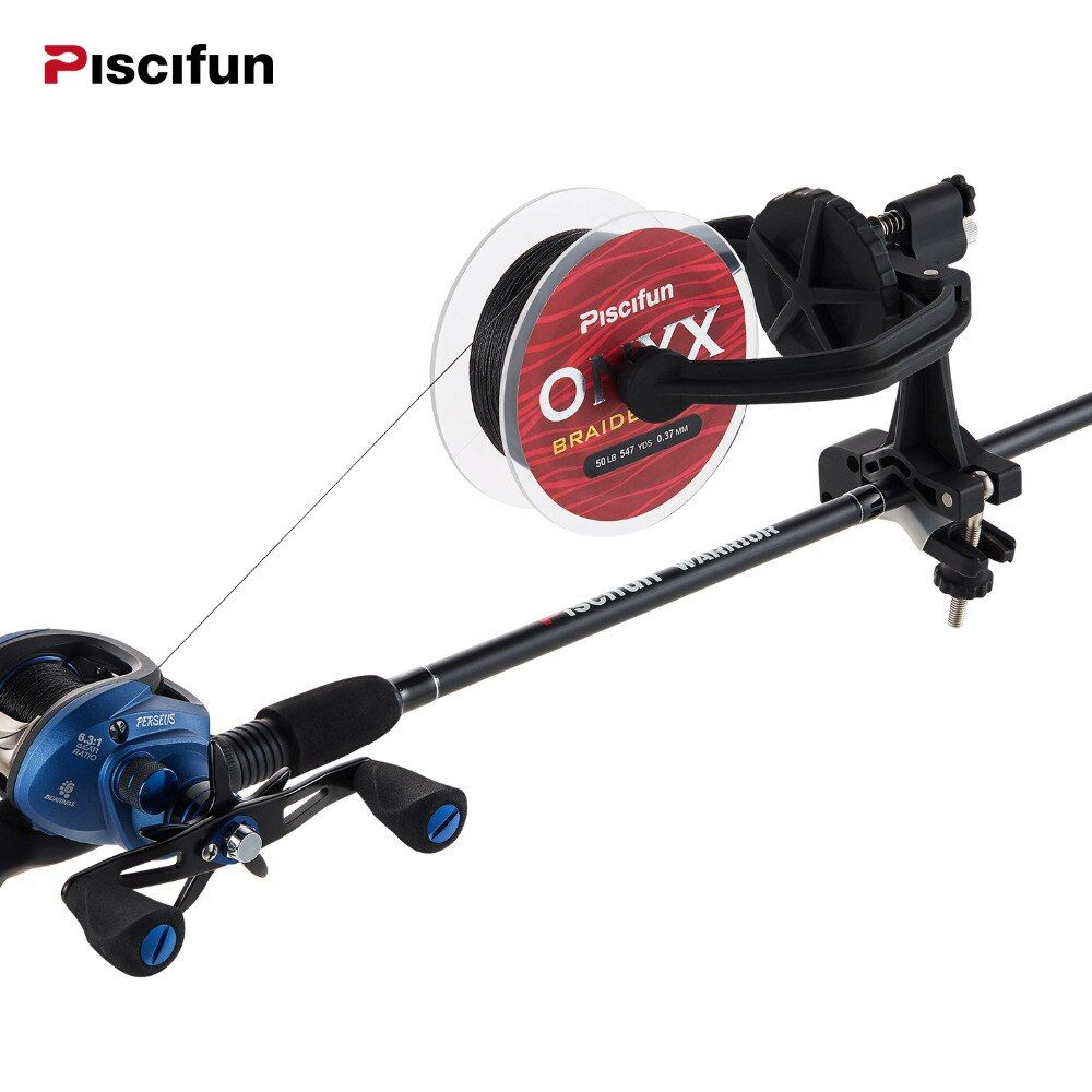 Piscifun TWE kinds of fishing line winder Nelon 300g Any series lines Spinning reel baitcasting reel fishing line Spooler