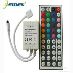 Led Controller 44 Keys LED IR RGB Controler LED Lights Controller IR Remote Dimmer  DC12V 6A For RGB 3528 5050 LED Strip