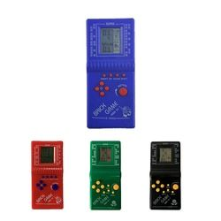 2017 Classic Childhood Tetris Hand held 2.7'' LCD Electronic Game Toys Pocket Game Console Handheld Game Players