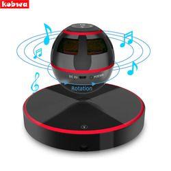Levitating Bluetooth Speaker Portable Floating Wireless Speaker Bluetooth 4.0 360 Degree Rotation Built-in Microphone Maglev