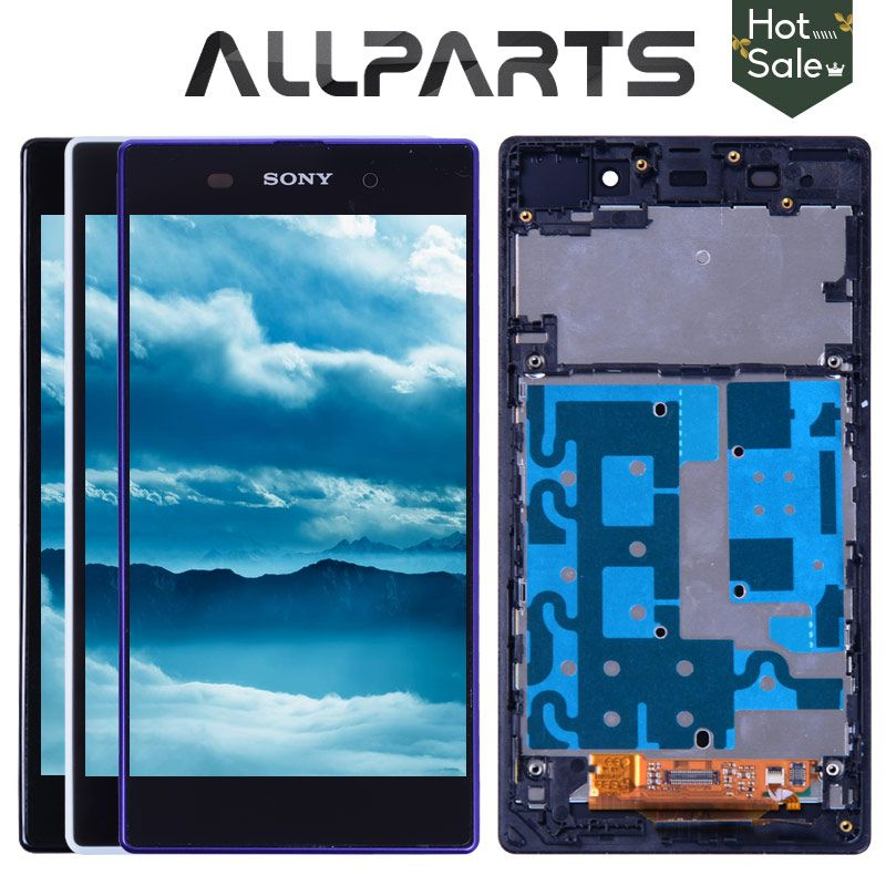 No Dead Pixel 5.0 Original for SONY Z1 Display C6903 L39H LCD For SONY <font><b>Xperia</b></font> Z1 LCD Display Touch Screen Digitizer
