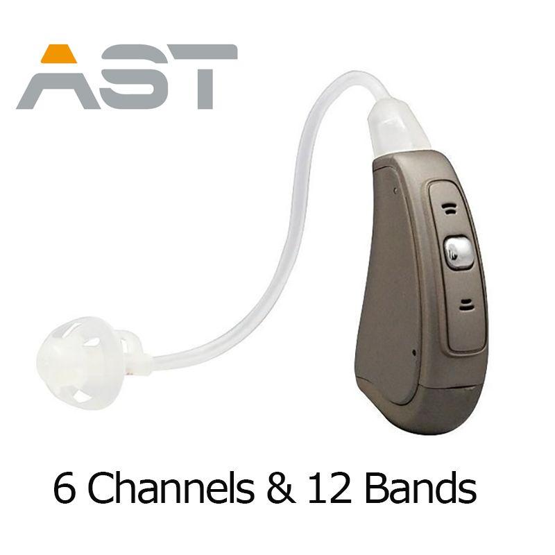 Livraison Gratuite Numérique Manuel Contrôle BTE numérique auditifs numériques aide auditive appareil auditif EP07 OE aide auditive