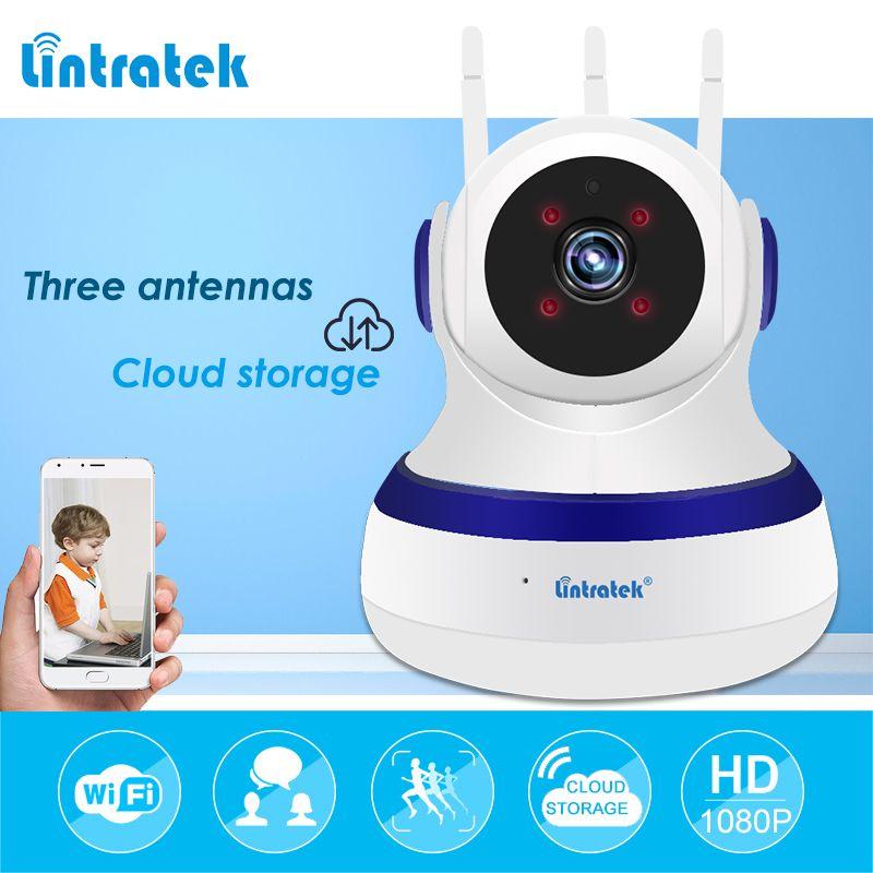 IP wifi Security Camera <font><b>Cloud</b></font> Storage 1080P wi-fi Mini Onvif PTZ Ipcam P2P Home Baby Monitor Camera 10m Night Vision