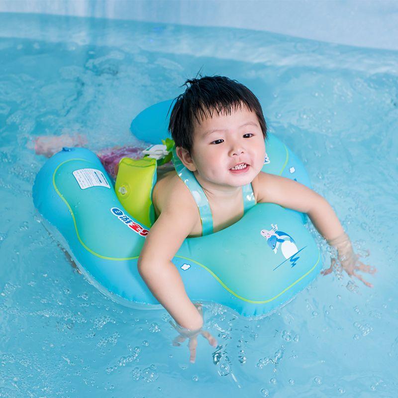 Nouveau Bébé Anneau De Bain Gonflable Infantile Aisselle Flottant Enfants Piscine Accessoires Cercle de Bain Gonflable Double Radeau Anneaux