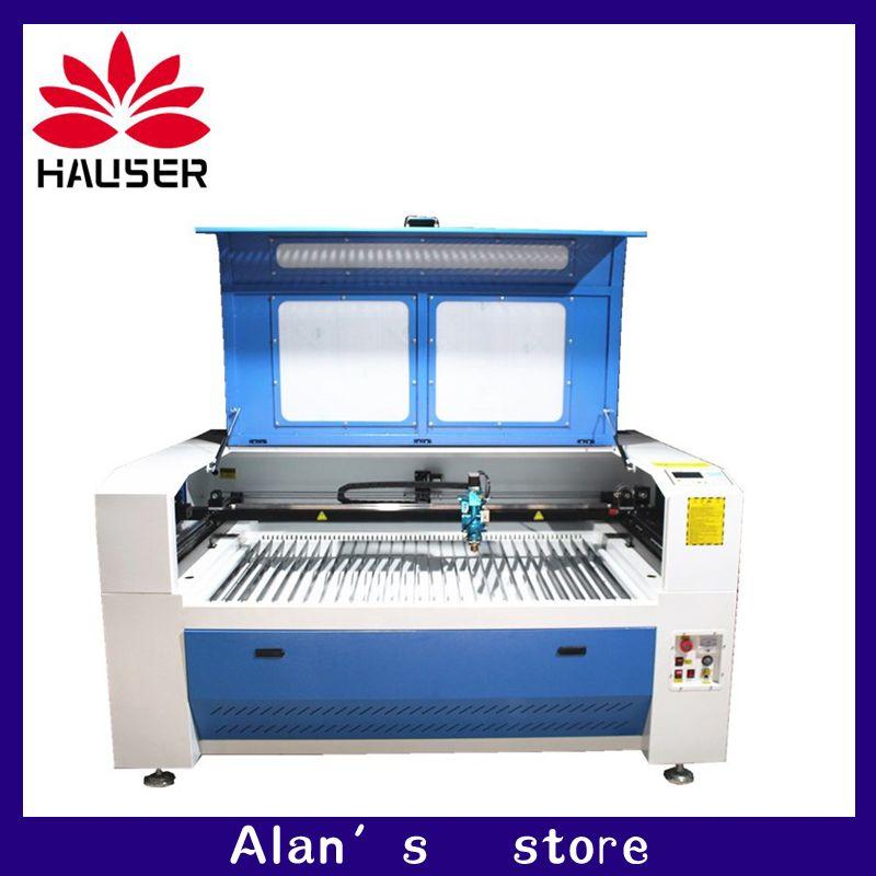 HCZ 130 W 150 W metall laser cutter maschine 1390 CO2 laser gravur maschine metall CW5200 chiller für edelstahl carbon stahl