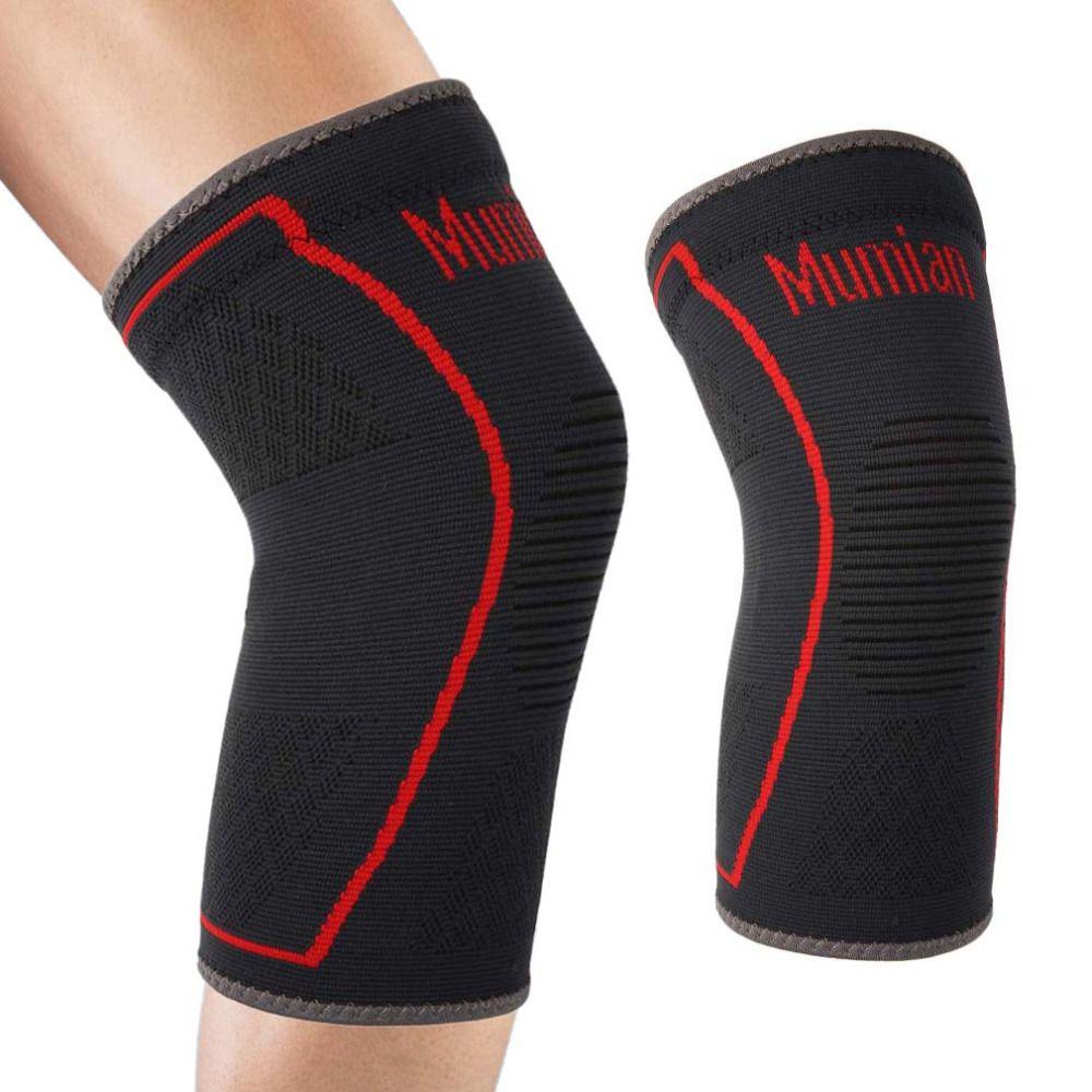 MUMIAN Elastischen Sport Leg Knie Unterstützung Klammer Wrap Beschützer Bein Kompression Sicherheit Pad Sleeve Patella Knieschutz Pad Heißer