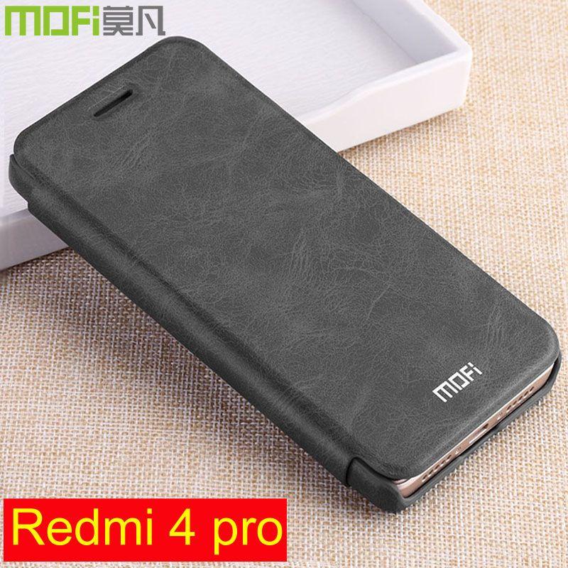 Redmi 4 pro cas flip en cuir xiaomi redmi4 pro premier 32 gb dur retour 64 gb portefeuille qtp redmi 4pro couverture xiaomi redmi 4 pro cas