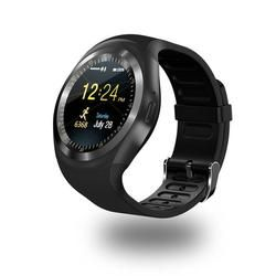 696 Bluetooth Y1 Smart Watch Relogio Android Smartwatch Panggilan Telepon GSM SIM Kamera Jarak Jauh Informasi Display Olahraga Pedometer