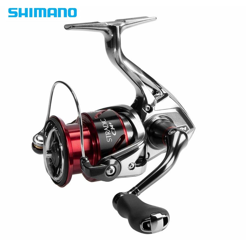 Shimano Stradic CI4 + 1000 2500 C3000 4000 Serie Spinning Angeln Reel 5,0: 1/4. 8:1 6 + 1BB X-Schiff HAGANE Getriebe Angeln Reel